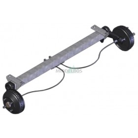 Torsie-as WAP WAG085B (850kg) rem: W 234 RS flens/pad: 1640/1140