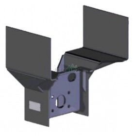 onderbouwbok WUB 18/1K WAP | 850x290mm