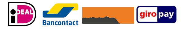 Betaalmogelijkheden bij Middelbos: Ideal, Bancontact (voorheen Mister Cash), Sofort banking, Giropay