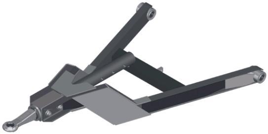 Triangel GZHU - Lengteverstelbaar met hoogteverzet