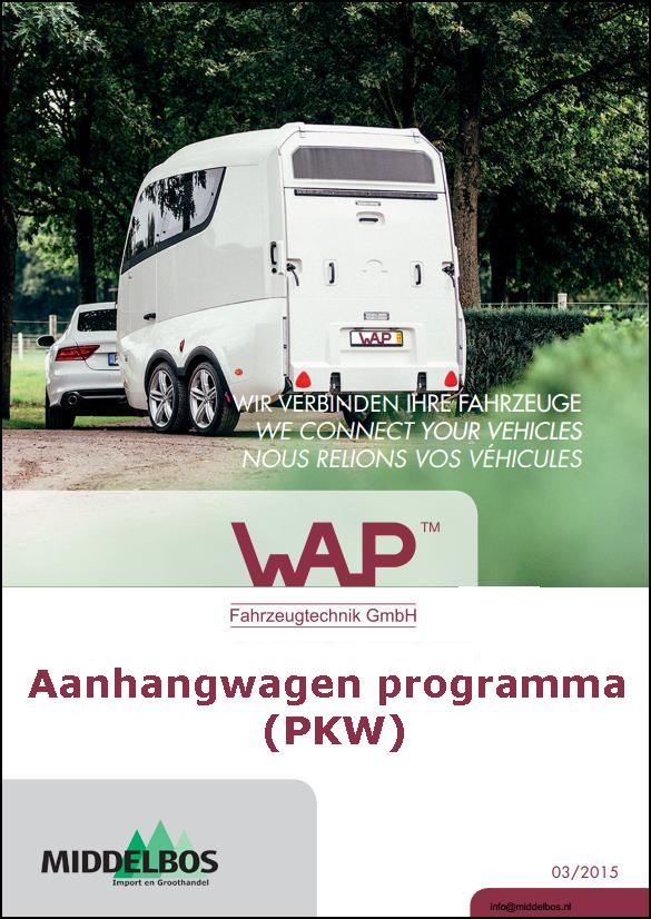 Catalogus PKW onderdelen - aanhangwagens 2015